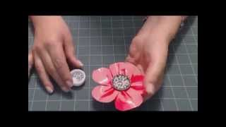 How To Make Duct Tape Flowers From MakingFriends.com