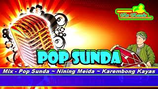 Liryk   Pop Sunda ~ Nining Meida ~ Karembong Kayas Karaoke Tanpa Vokal