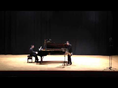 Rannoch-concerto für French Horn ( P.W. Fürst) Pau Molto Biosca Trompa, Vicente Espert  Piano
