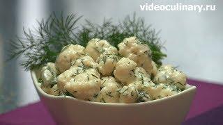 Салат из свежей цветной капусты - Рецепт Бабушки Эммы