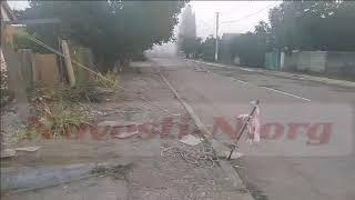 Под Николаевом водитель на «Чери» врезался в жилой дом и сбежал. Видео