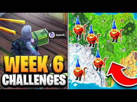 Fortnite Week 6 Challenges Chilly Gnomes Locations Secret Banner
