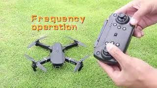 Dron 2020 E525 WIFI FPV con gran angular HD 4K