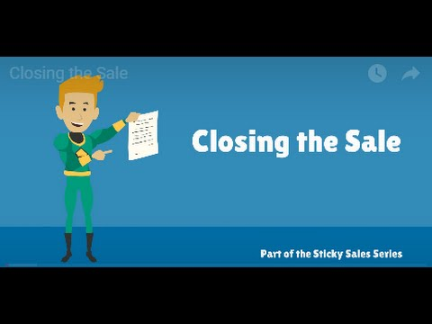 Free Sales Training Video: Closing the Sale - YouTube