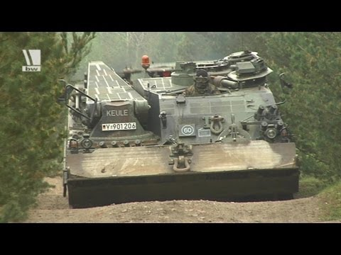 Wenn ein Büffel Kette gibt: Allrounder im Einsatz - Bundeswehr