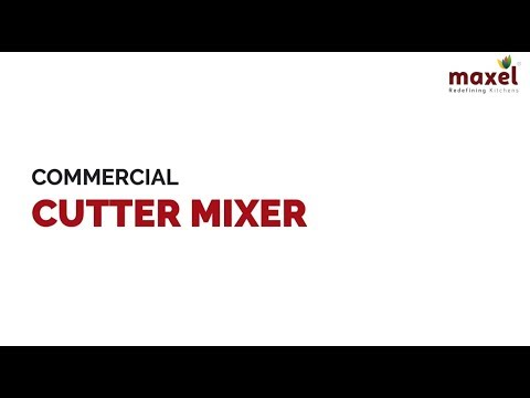LEP871 Commercial Cutter Mixer