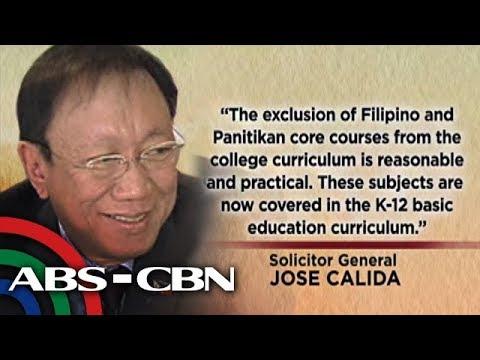 Bandila: Pagtanggal ng Filipino, panitikan sa kolehiyo, pinangangambahan