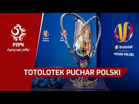 TRANSMISJA NA ŻYWO: Losowanie par 1/8 finału Totolotek Pucharu Polski [WIDEO]