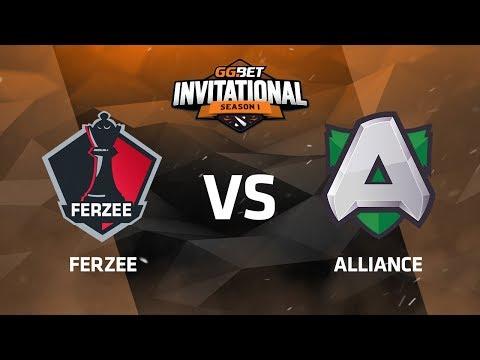 Ferzee против Alliance, Третья карта, Группа B, GG.Bet Dota 2 Invitational