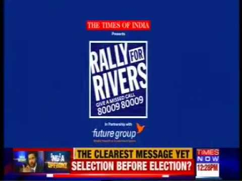 Times Now - Rally for Rivers - 14/10/17