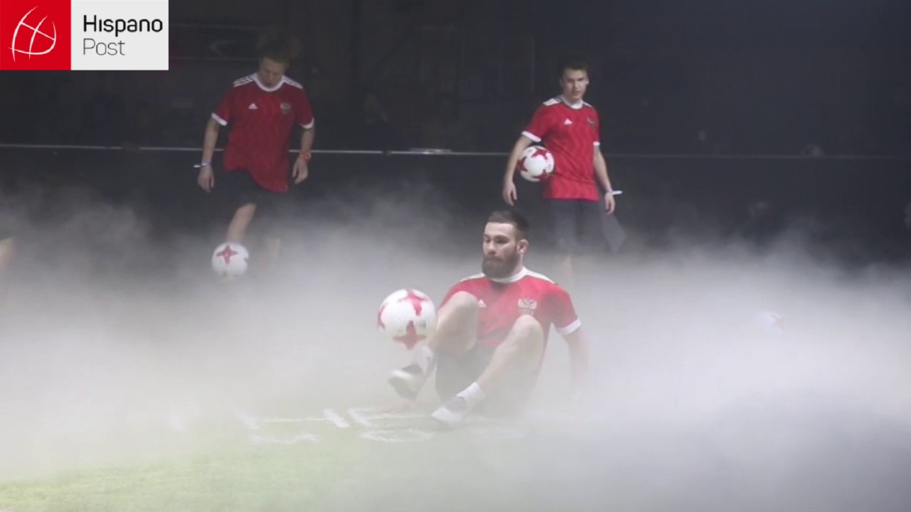 """""""Krasava"""": el balón oficial para la copa Confederaciones Rusia 2017"""