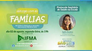 Protocolo de Saúde Na Escola - Semed + TV IFMA