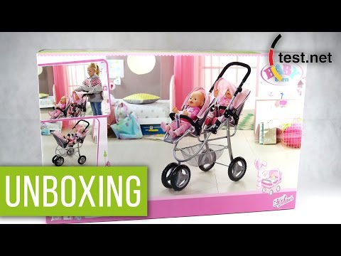 Zapf Creations   Baby Born Zwillingspuppenwagen (Unboxing)   test.net