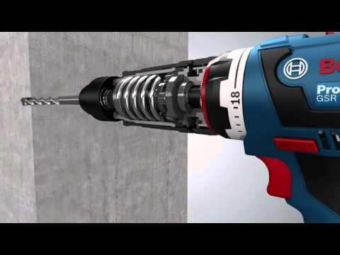 Bosch Accuschroefboormachine GSR 14,4 V-EC FC2 & GSR 18 V-EC FC2 Professional