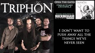 Triphon - Open The Gates (lyrics)