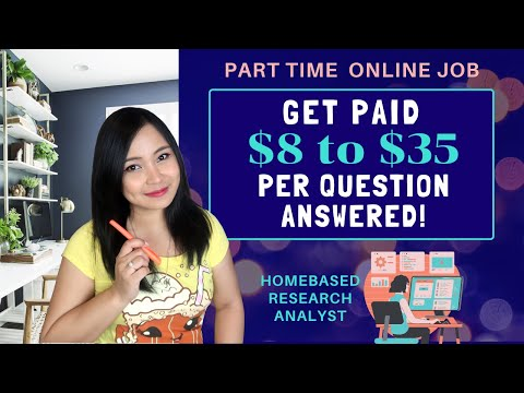 , title : 'Answer a Question and Earn Up to $35! | Be a Research Analyst at Ask Wonder | Work from Home ENGSUB