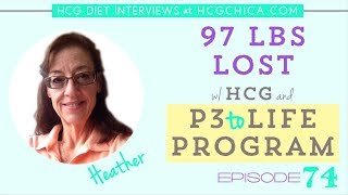 Extended Round of hCG and Losing Weight on P3 with the P3tolife program - Interview Episode 74
