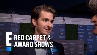 Andrew Garfield Says Emma Stone Is The Greatest  E Live From The Red Carpet
