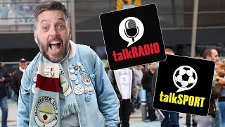 Hilarious Prank Call! Fake Manchester City Fan Calls talkSPORT!