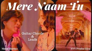 ZERO - Mere Naam Tu Song Cover | Guitar Chords   - YouTube