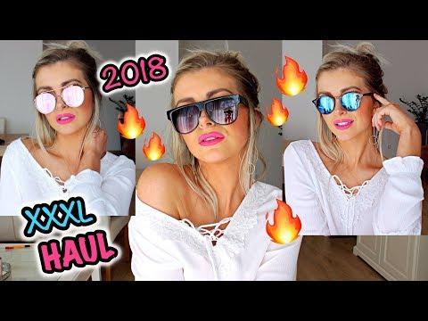 XXL TRY ON HAUL 2018 I SONNENBRILLEN I BeautybyOlja