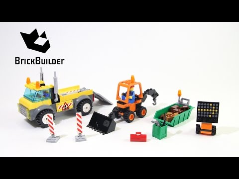 Vidéo LEGO Juniors 10683 : Le camion de chantier