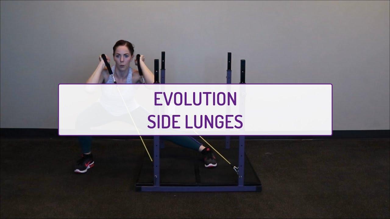 Evolution Side Lunges