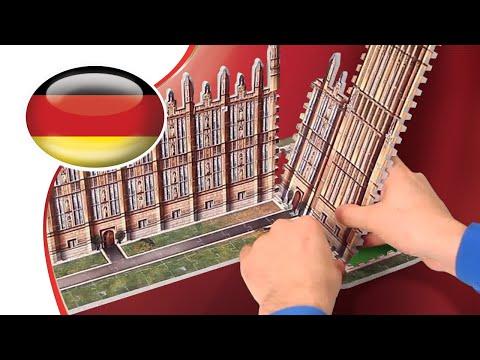 Wrebbit 3D Torre di Astronomia di Hogwarts (875-Teile)