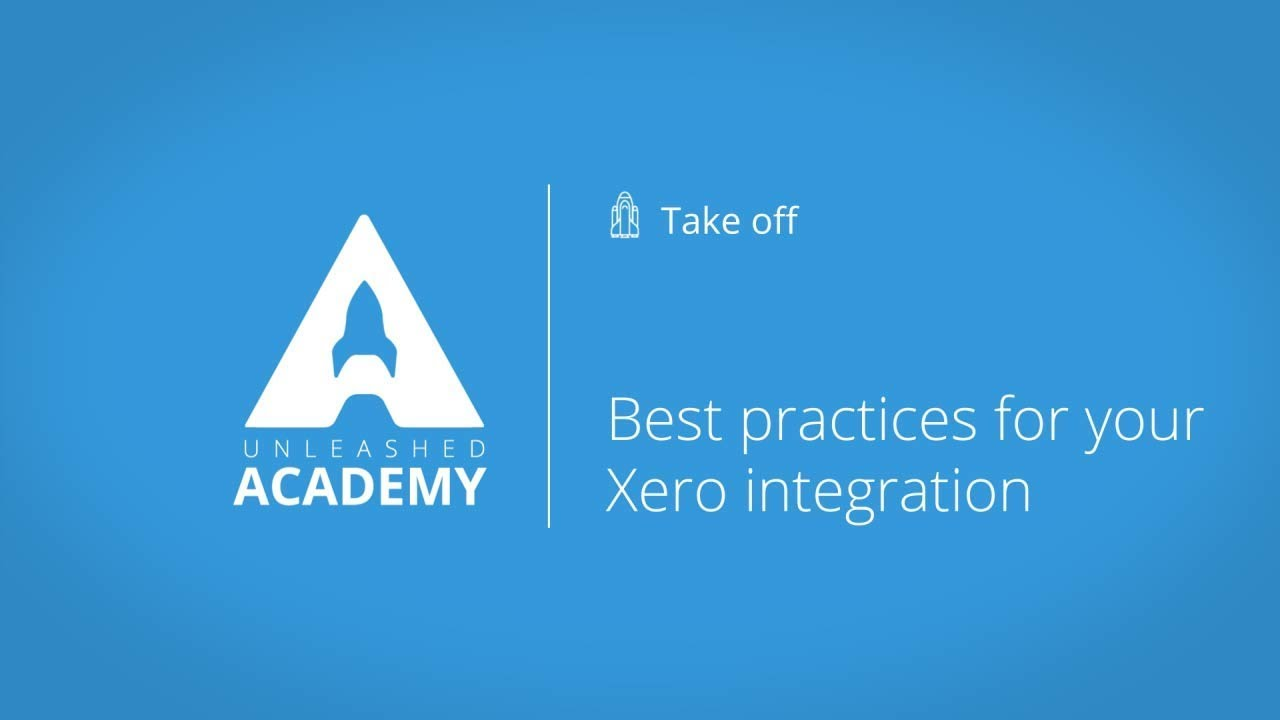 Best practices for your Xero integration YouTube thumbnail image