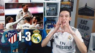 REACCIONES DE UN HINCHA Atlético De Madrid Vs Real Madrid 1-3 DERBI 2019