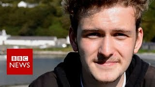Being 18 on UK's Rathlin Island - BBC News