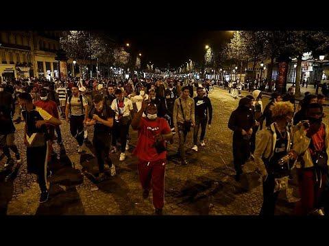Μία ήττα, ένας τελικός και δεκάδες συλλήψεις στο Παρίσι …