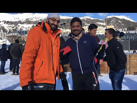 Live: Cricket on Ice with Monty Panesar from Switzerland