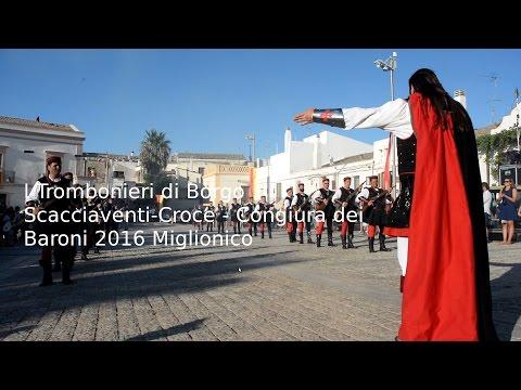 I Trombonieri - Congiura dei Baroni 2016 Miglionico