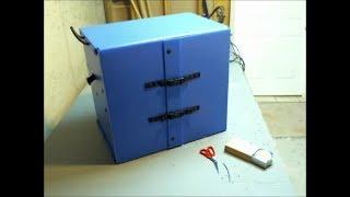 Making a Corrugated Plastic Chuck Box