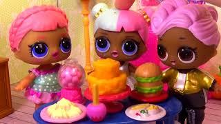 Куклы ЛОЛ LOL Surprise БЕСПОРЯДОК НА ВЕЧЕРИНКЕ Мультик #Сюрпризы видео для детей Вероничка Лалалупси