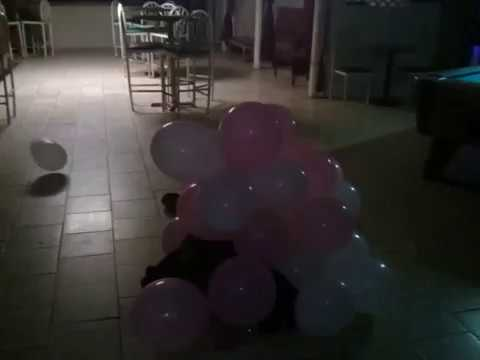 Balloon bouncing.  Does it work?