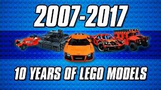 2007-2017: 10 years of custom LEGO models