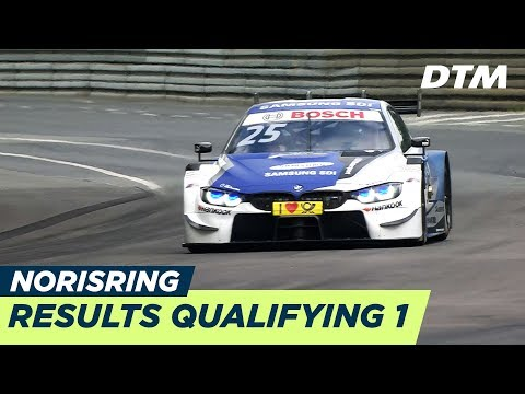 Top 3, Results & Highlights Qualifying 1 - DTM Norisring 2018
