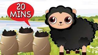Baa Baa Black Sheep and Many More Kids Songs | Popular Nursery Rhymes Collection | Baby Songs
