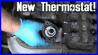 Thermostat Replacement Dodge Caravan 3.3L V6