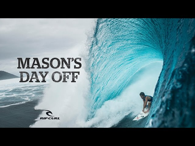 Mason Ho's Day Off | Surfing is Everything