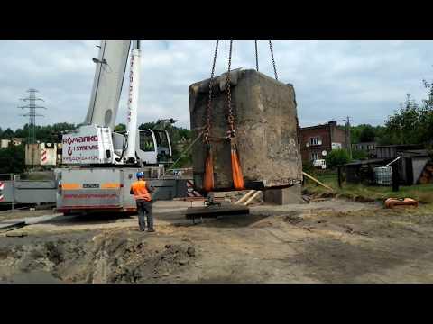 Ruda Śląska: Przeniesiono 70-tonowy schron