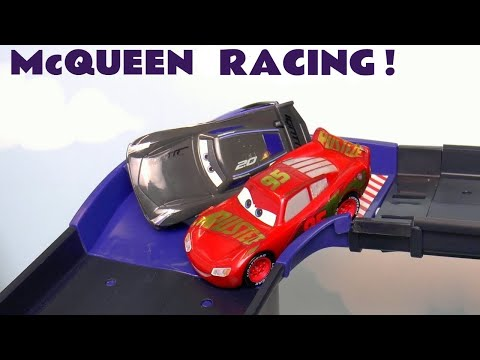 Disney Cars Toys Lightning McQueen Races Storm And The Hot Wheels Superhero Cars