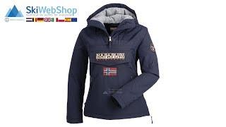 Napapijri, Rainforest pocket anorak, winterjas, dames, navy blauw