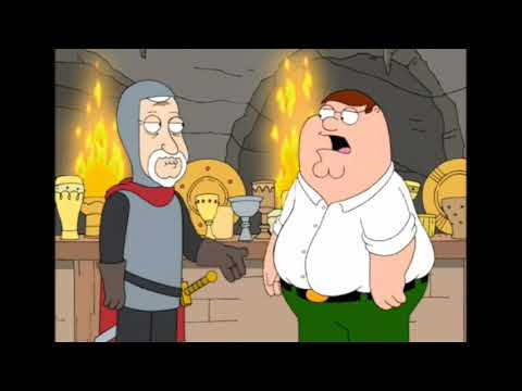 Family Guy   Peter chooses the holy grail