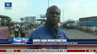 Road Users Lament Bad State Of Eleme Akpajo Refinery Road