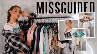 HUGE MISSGUIDED SPRING/SUMMER & NEW PLAYBOY TRY ON HAUL W/ DISCOUNT CODE AD