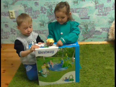ДЕТСКИЙ  БАССЕЙН BESTWAY/ children's pool/ ТЕСТИРУЕМ ДЕТСКИЙ БАССЕЙН
