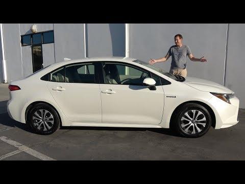 External Review Video EZCH1JsTNMI for Toyota Corolla Hatchback, Sedan, & Touring Sports (12th gen, E210)